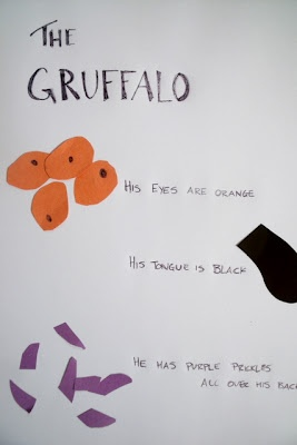 A Gruffalo Art Activity