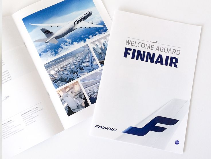 Booklet printing for Finnair.  The booklets were printed on 130 gsm gloss with a self cover.  We offer a complete range of booklet printing services in Ireland, with a variety of binding options to suit any requirement including saddle stitched, wire binding and perfect binding.   Read more here - http://www.printco.ie/printing/booklets/print/index.html