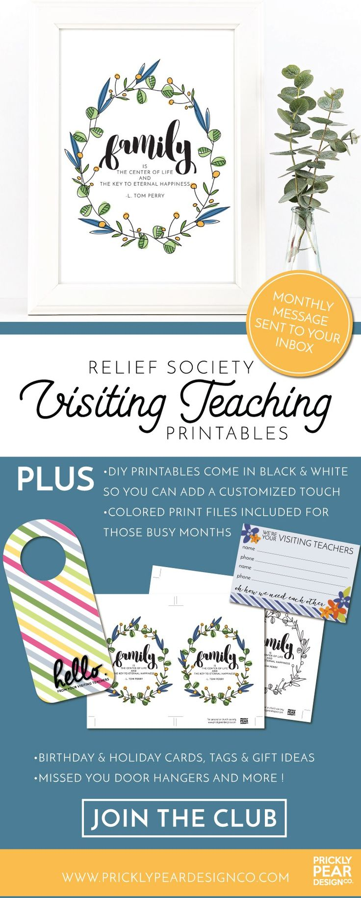 202 best relief society visiting teaching images on pinterest relief society visiting teaching printable club these printables are amazing negle Image collections
