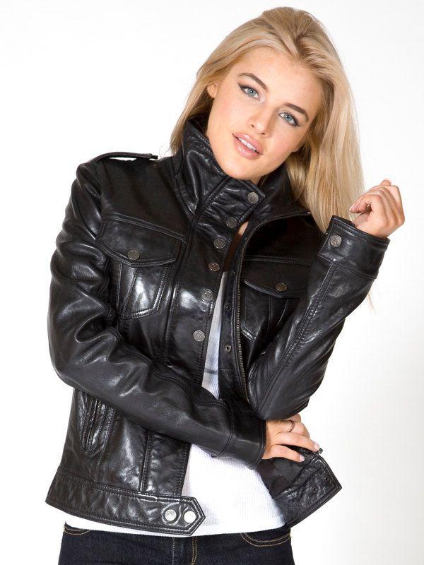 Leather Jacket for Women . Women Leather Jacket . by Oligarci
