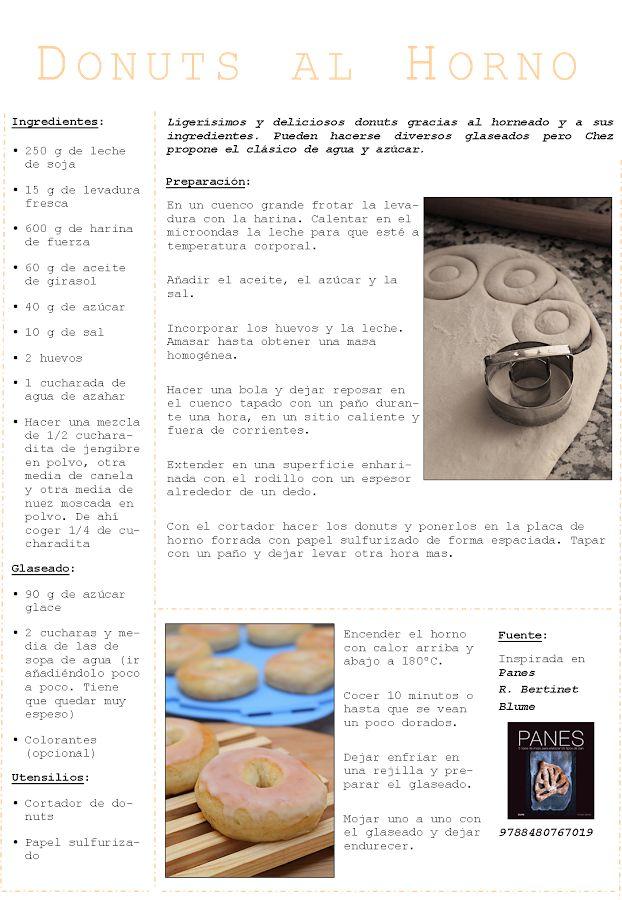 Donuts de Leche de Soja al Horno | Chez Dashita, Recetas, Música y Fotos