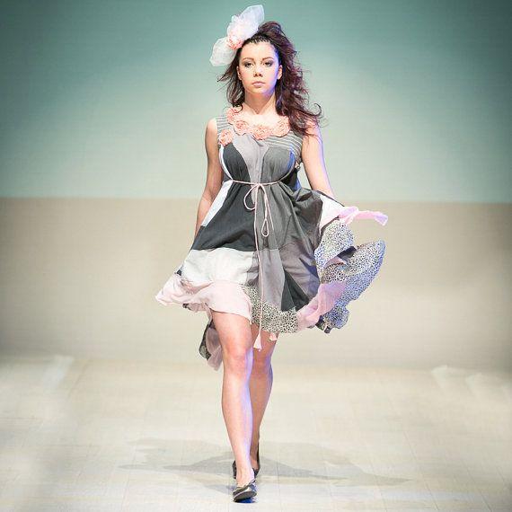upcycled clothing . swing dress on Etsy, $171.00 CAD