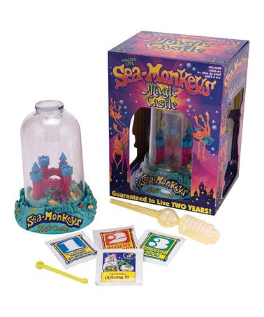 This Sea Monkey Magic Castle by Schylling is perfect! #zulilyfinds