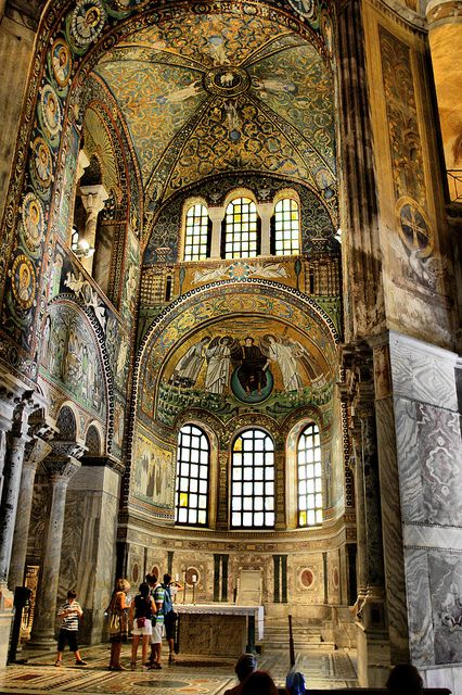 Basilica of San Vitale. Byzantine Mosaics.Ravenna. Базилика Сан Витале.Византийские мозаики. Равенна. | Flickr - Photo Sharing!