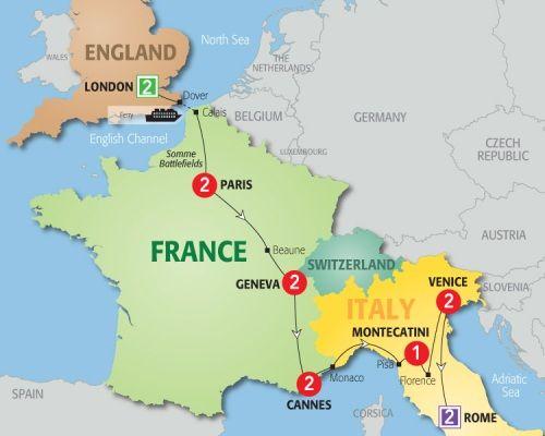 Aaa Travel Tours To Europe