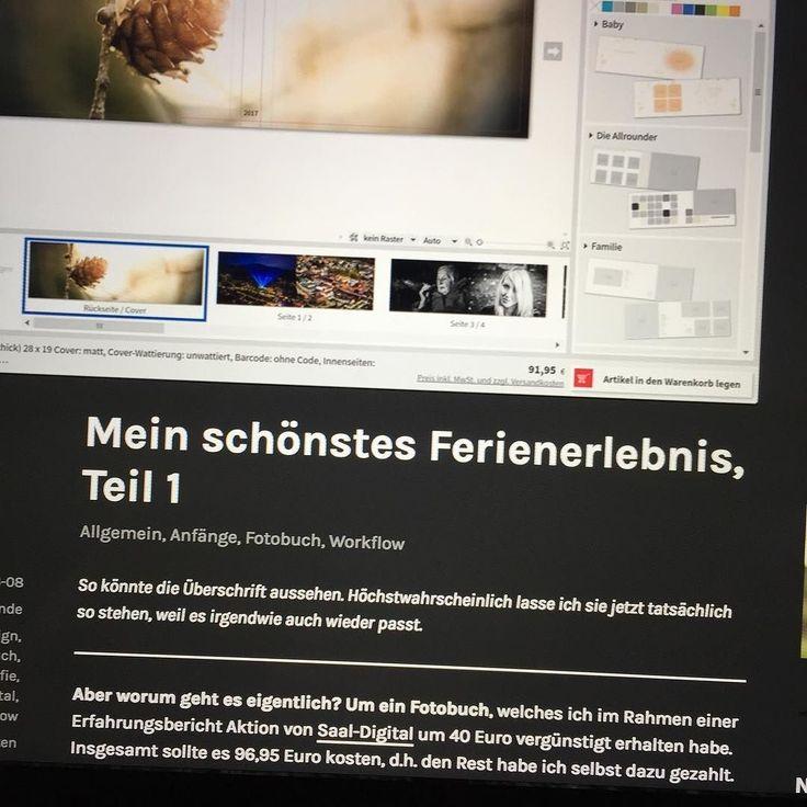 Neuer Blogeintrag!  Ich habe ein Fotobuch bei #SaalDigital erstellt und darüber berichtet. Denn ganzen Bericht gibt es im Blog auf meiner Seite (Link findet ihr in meinem Profil). Viel Freude beim Lesen!  #blog #blogbeitrag #fotobuch #software #erfahrungsbericht #wordpress #blogging