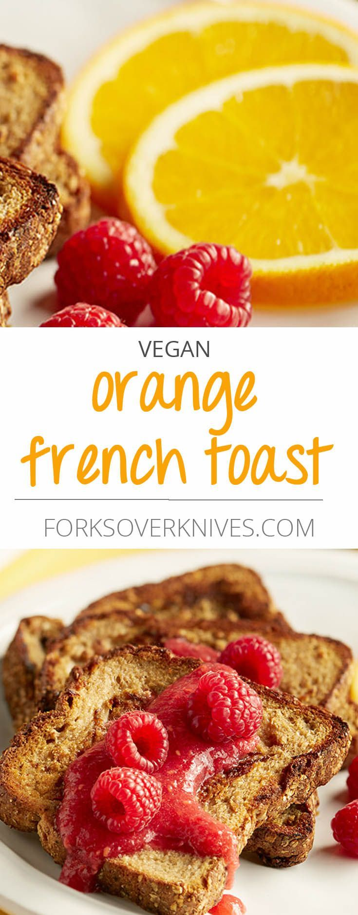 Aquafaba helps make this vegan French toast soft, thick, and eggy. Use your favorite bread or berries to create your own signature version. Aquafaba is the liquid that comes from soaking or cooking beans or legumes—it's the thick liquid you...  Read more