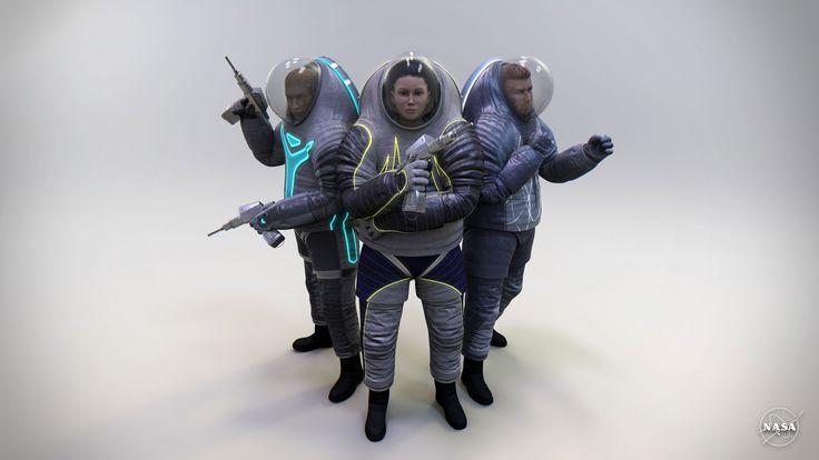 https://www.youtube.com/watch?v=P32j17Fl5L0    Quais os caminhos que os engenheiros percorrem para desenvolver um traje espacial? Quais os desafios devem ser superados para construir algo capaz de suportar o frio, o calor, o ambiente extremo, mant...
