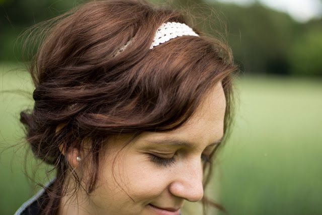 Green Bird: Anleitung Gehäkelte Haarbänder ... crochet hairband tutorial