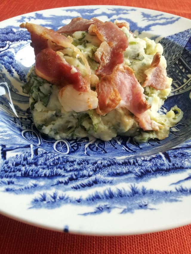 Dutch Potato Purée with Curly Endive & Bacon | Recipe | Pinterest ...
