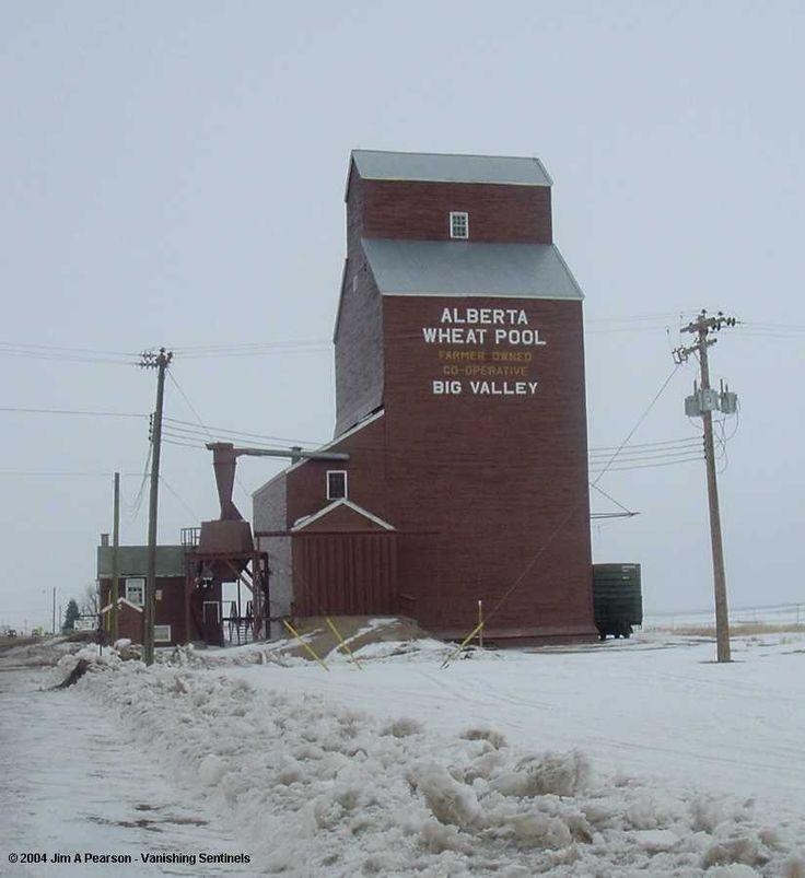 Vanishing Sentinels - Grain Elevators: The Alberta Wheat Pool