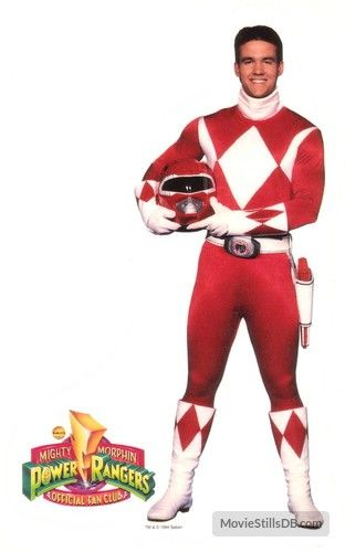 Red Ranger Fan Club Photo