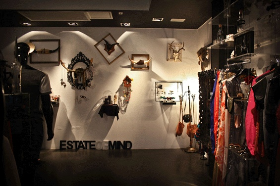 +ESTATEofMIND held their summer launch event on the 6th of October, in collaboration with menswear designer Orri Henrisson and design studio Verse, who transformed the +ESTATEofMIND Crown St. windows as part of Art & About Festival.