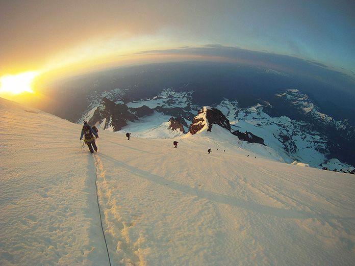 Η θέα από 8000 μέτρα ύψος.