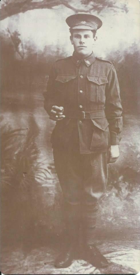 Herbert Foss Tonkin - Army Uniform