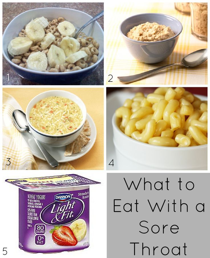 What to Eat With A Sore Throat #health #advice