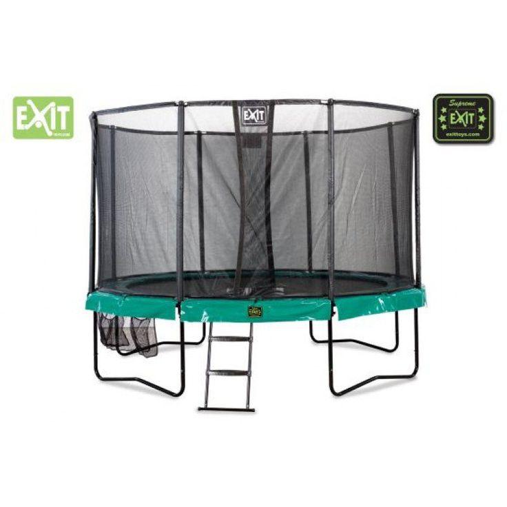 EXIT Supreme All-in-1 trampoline Ø366 cm