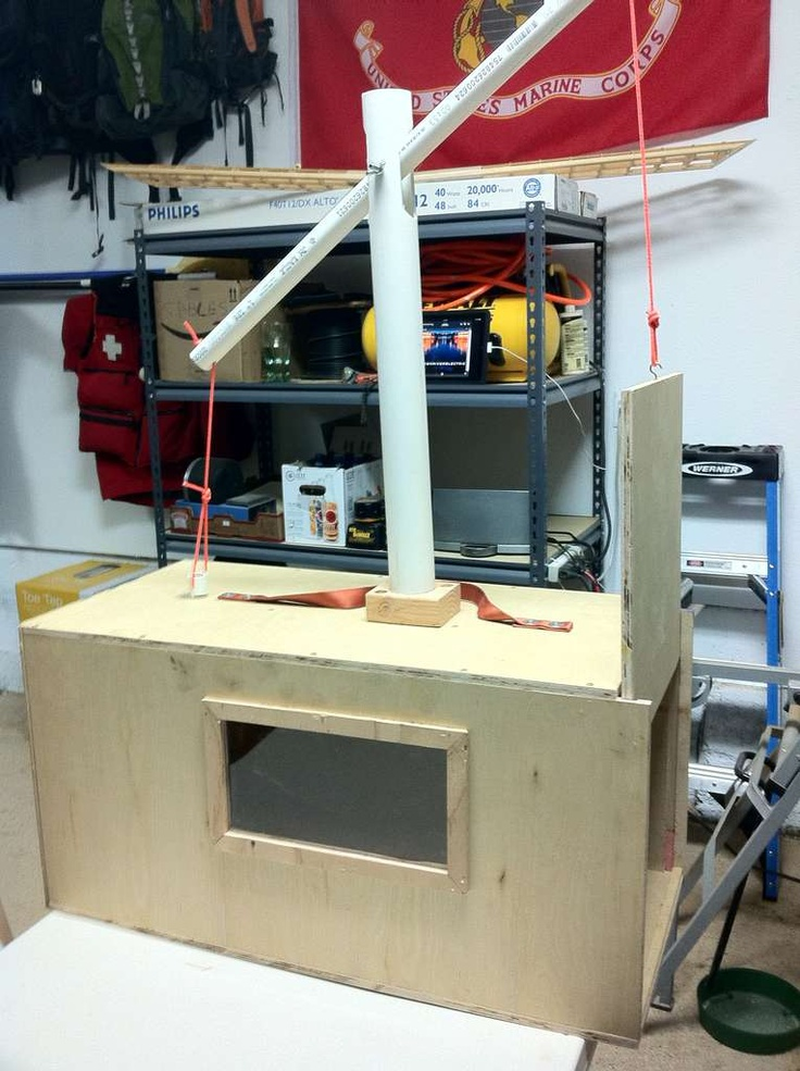 Woodworking Projects Plans: Humane Animal Trap (Small-Med)