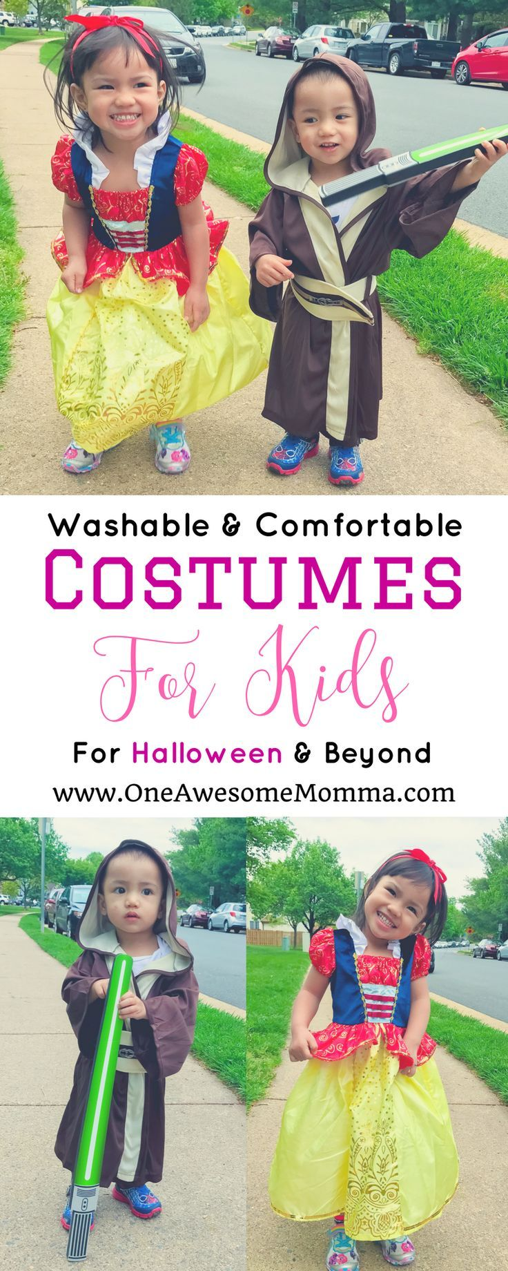 [ad] Are you looking for practical halloween costumes for your kids that they can use even after halloween? This post tells you where to get washable & costumes for kids. | comfortable costumes halloween | comfortable costume ideas | toddler costumes | to
