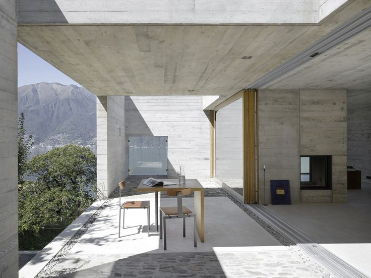 Wespi & de Meuron. House GR in S. Abbondio, Ticino, Switzerland. 2012. Photography Hannes Henz