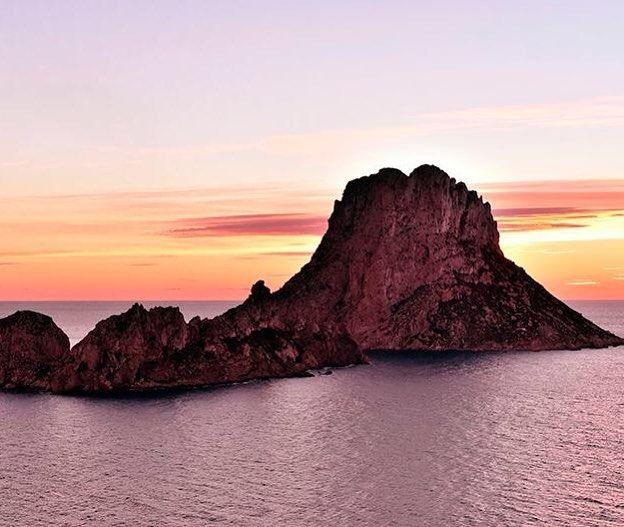 The beautiful mysterious Es Vedrà rocky island off #Ibiza island...  . . . . #VisitIbiza #Spain #VisitSpain #holiday #vacation #travel #instatravel #instapassport #travelgram #igtravel #travelopo #holidays #holidayvilla #holidayrental #explore #roundtheworld #travelopoholidays
