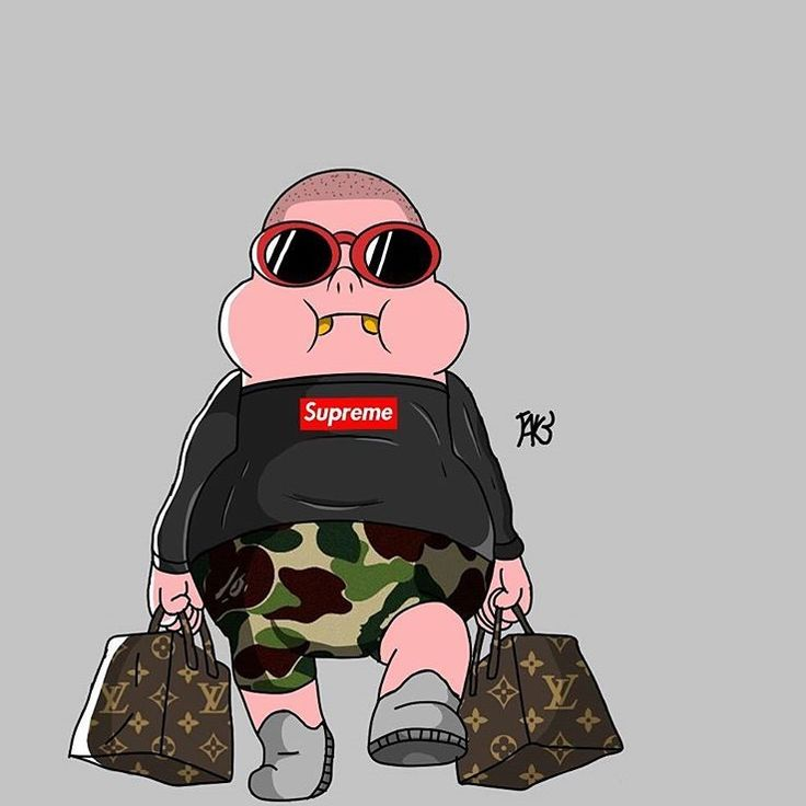 Pin by jmoney on characters Supreme wallpaper, Cartoon