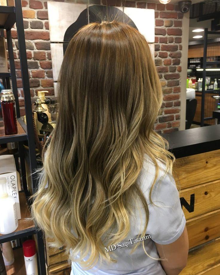 Ombre Hair 💛 #ombre #ombrehair #ombrebalyaj #izmir #kuaför #trend #trendhair #hairstyle #hairtransformation #hairdesign #efsanesaclar #hairdresser #tasarim #fashion #renk #color #newhair #mdsactasarim @mdmetindemir