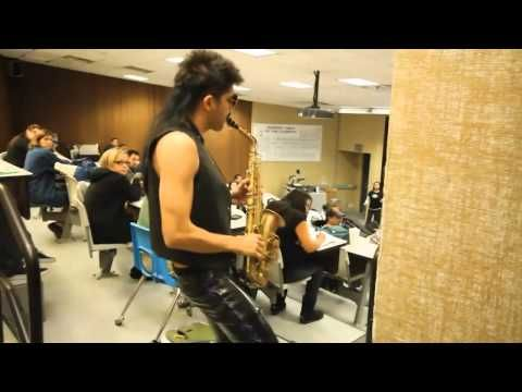 Sergio the Sexy Sax Man. Makes me laugh, every damn time. Oh the memories this brings back!!