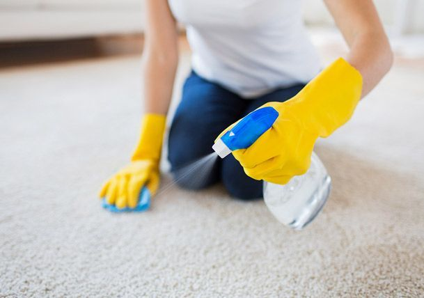 Mold Growth In Carpeting And Rugs Can Damage The Fibers Leading To Discoloration Or The Visible Stain Ar With Images Vinegar Cleaning Carpet Cleaning Hacks Cleaning Hacks