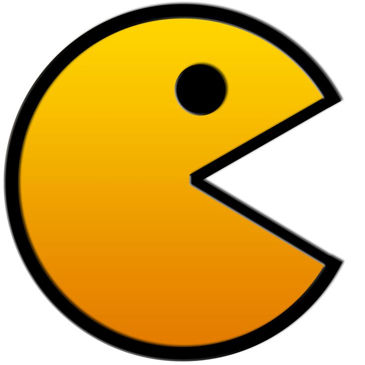 Pacman | Transparent Background | Pinterest