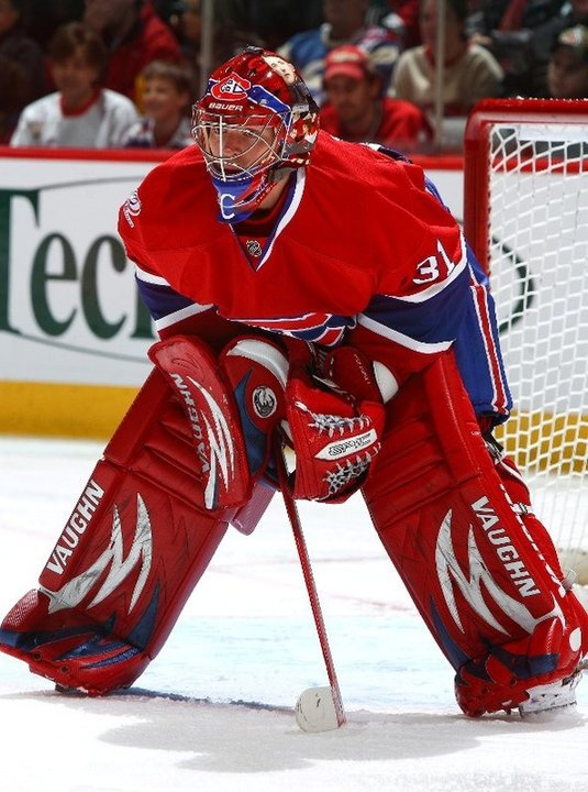 Carey Price, ready for some hockey action, as I think we all are.