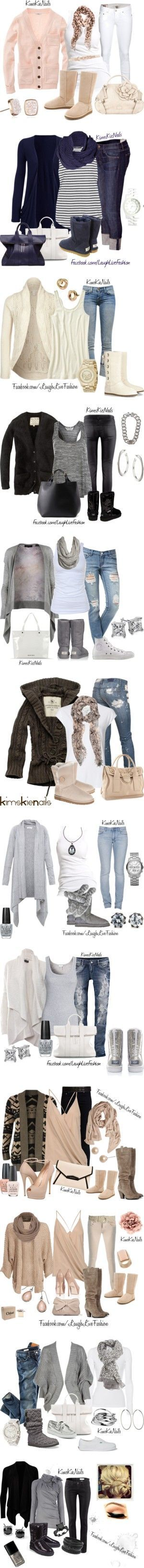 Lets talk about UGGs, baby...! by kimskienails liked on Polyvore