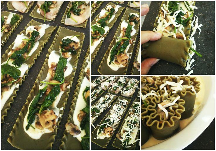 Délices & Confession: Sauce crémeuse au chou-fleur, faussement alfredo, en lasagnes