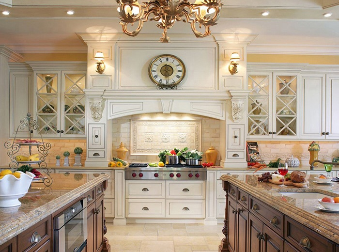 custom kitchen design and cabinet installation by experienced kitchen