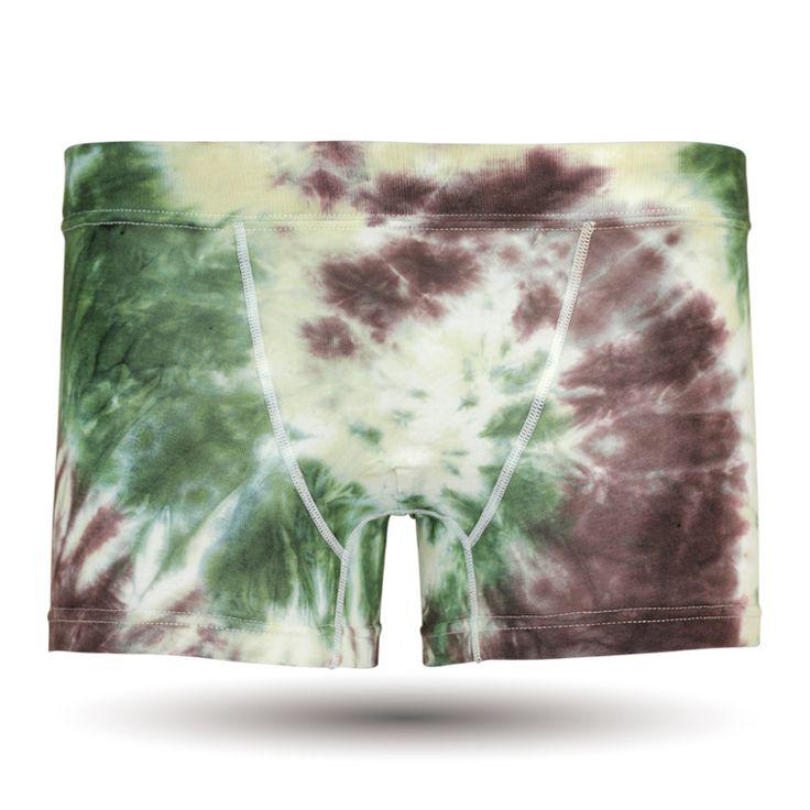 Men's Boxer Pants-tie dye Colorful, メンズファッション アンダーウェア ボクサーパンツ #darkshiny #mensfashion #boxerbrief #underwear #flower