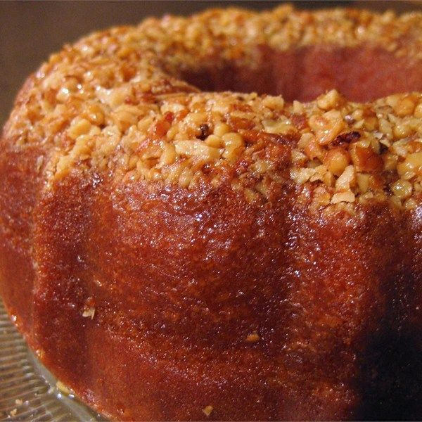 "Golden Rum Cake | ""I have been eating this rum cake practically all my life, my mom has made it as long as I can remember."""