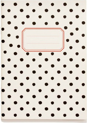 Polka Dot A5 Notebook