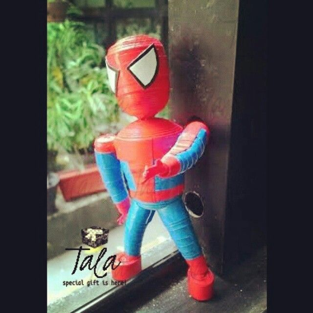 Meet my spiderman! #paperquilling #spiderman