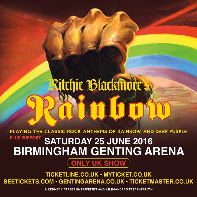 RITCHIE BLACKMORE's RAINBOW Post First Official Band Photo For Upcoming Shows - Bravewords.com