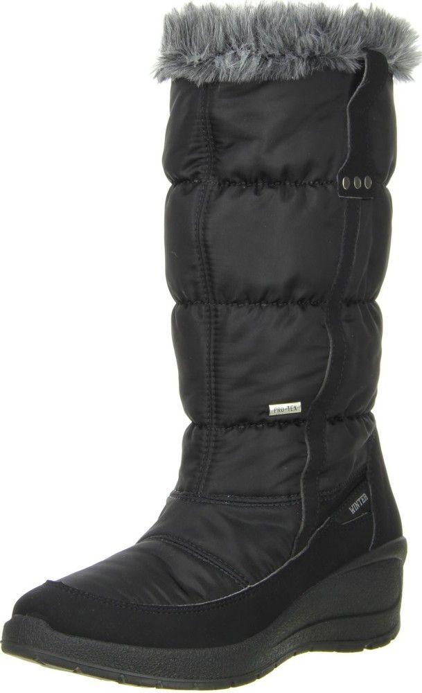 06648d3d2838 Vista Damen Winterstiefel Snowboots schwarz Jetzt bestellen unter   https   mode.ladendirekt.de damen schuhe stiefel winterstiefel  uid 9690b…