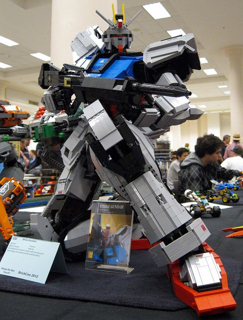Brian Cooper's Strike Gundam   by graybandit2000