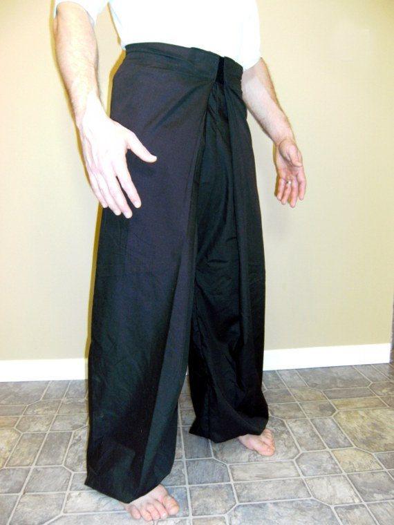 Kung fu pants  great for martial arts yoga by VitalityDesignStudio, $45.00