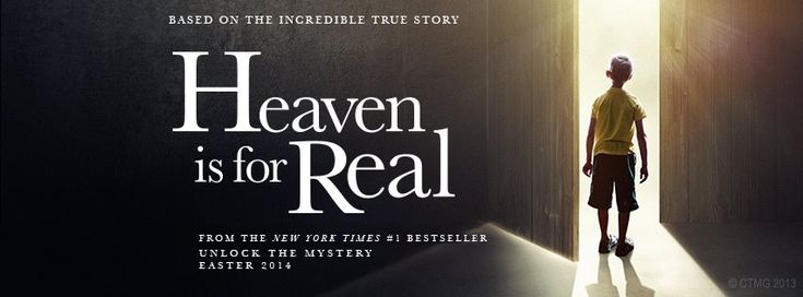 Heaven is For Real - Christian Movie Film on DVD - Banner