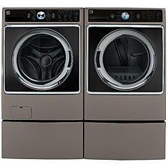 kenmore washer and dryer. kenmore elite 5.2 cu. ft. front-load washer \u0026 9.0 ft and dryer
