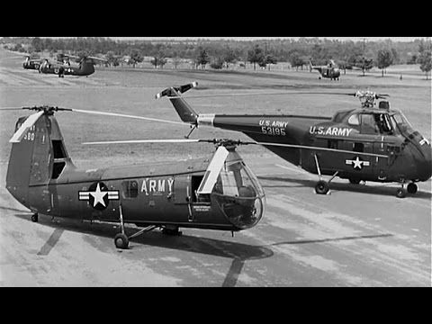 "Helicopter Pilot Training: ""Transition to the H-19"" 1956 US Army Training Film https://www.youtube.com/watch?v=M6H9OfeES7M #helo #flighttraining"