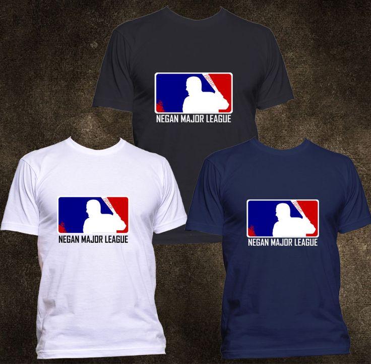 NEW Eeny Meeny Miny Moe Negan Major League The Walking Dead T shirt S - 2XL #Gildanorother #GraphicTee