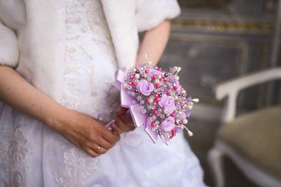 Wedding BouquetLAVENDERBridal bouquet-Bouquet от MichaelPyshinsky
