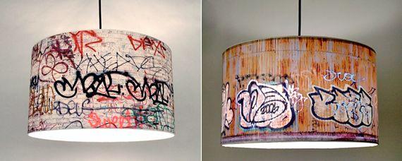 Graffiti Pendant Lamp