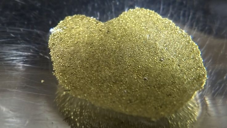 Jewellery making gold dust granules