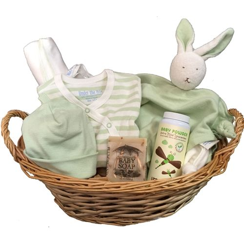 58 best baby shower gifts images on pinterest baby shower gifts organic baby gift basket pure love negle Choice Image
